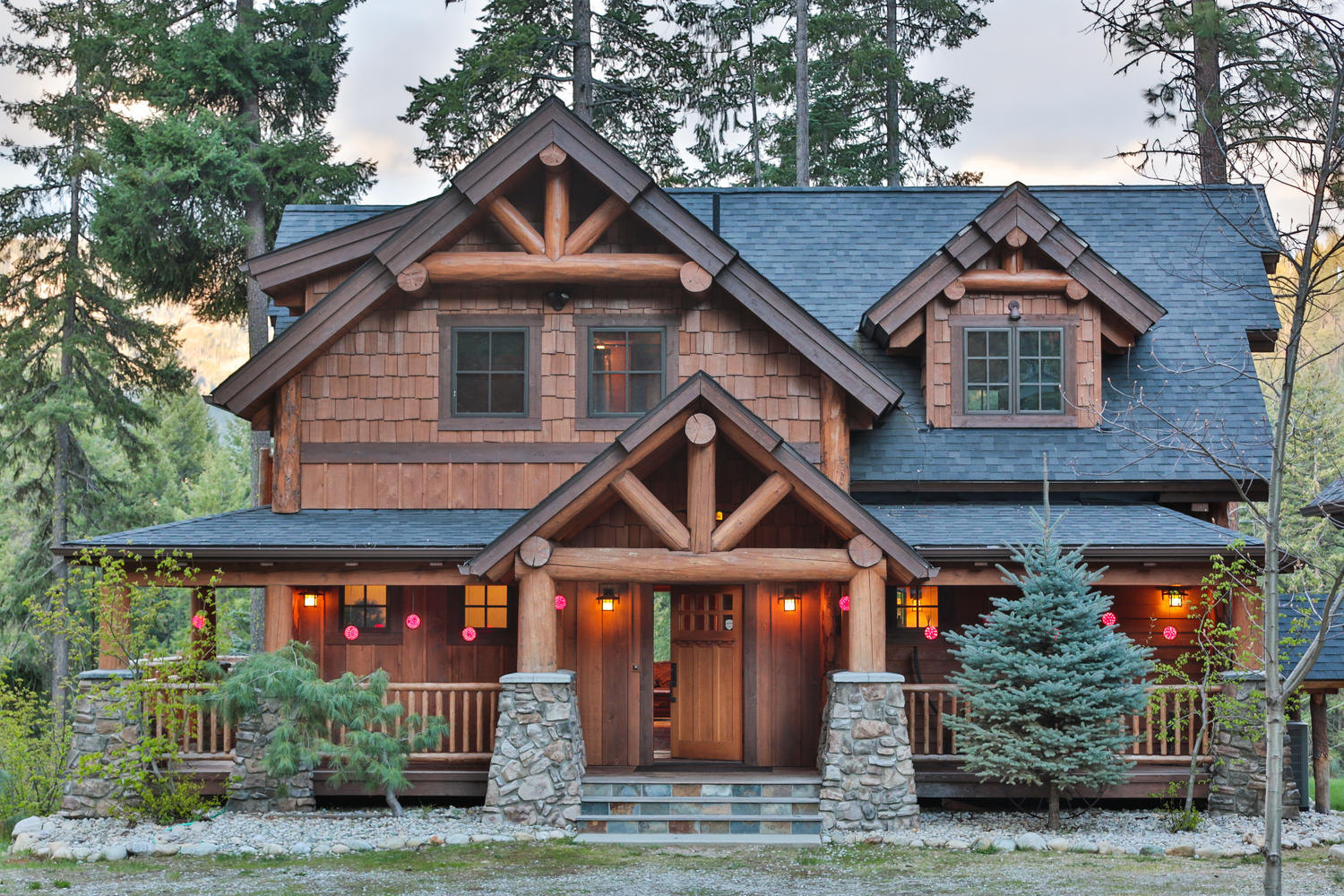 Timber Frame Homes - High Sierra Log and Timber Frame Homes
